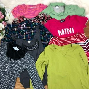 Bundle of clothes lot reseller box mixed sizes